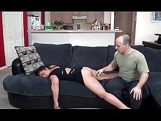 Cumshot Hot MILF Sleeping