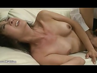 Couch Fuck Licking Mature MILF Mouthful Nylon Panties